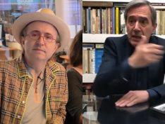"""Dono da Jovem Pan busca substituto para Villa e Reinaldo Azevedo e oferece """"beijo da mulher do sofá"""""""