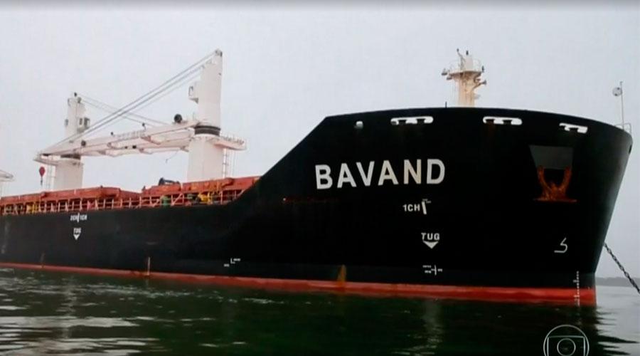 Resultado de imagem para navios do irã no brasil