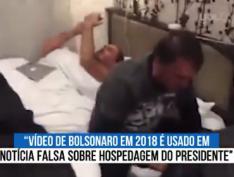 Fake News: Bolsominios divulgam vídeo antigo de Bolsonaro em quarto minúsculo de hotel no Japão e são desmentidos