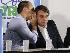 Bolsonaro quer colocar filho como líder do PSL na Câmara dos Deputados