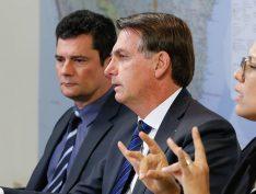 Moro e Bolsonaro fazem encontro fora da agenda após ação da PF