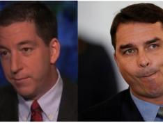 Glenn Greenwald chama Flávio Bolsonaro de corrupto e cobra Sérgio Moro