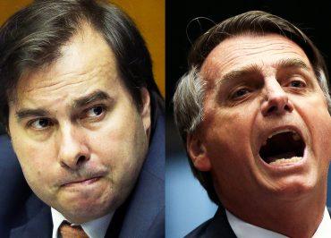 Enquanto Bolsonaro culpa ONGs por queimadas, Maia anuncia grupo de trabalho para propor soluções