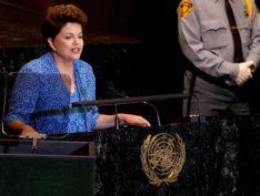 Há 8 anos, Dilma fazia história ao ser a primeira mulher a abrir Assembleia Geral da ONU, assista