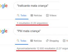 Traficante x Polícia: O teste do Google feito por Cynara Menezes