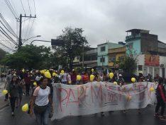 Agatha presente: Moradores do Alemão fazem novo protesto contra assassinato da menina de 8 anos
