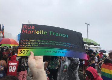 Mesmo sob chuva, Parada LGBT do Rio de Janeiro prega resistência