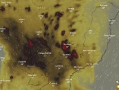 Fumaças de queimadas do Pantanal se espalham e concentração de CO volta a preocupar
