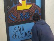 Alunos de escola pública reproduzem telas de mestres da pintura nos corredores