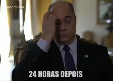 Isso a Globo não mostra ridiculariza silêncio de Witzel sobre assassinato de Agatha