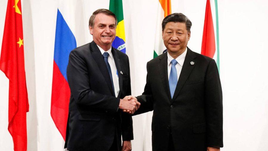 Resultado de imagem para Ji Jiping Bolsonaro