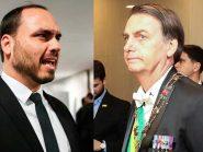 """Do Japão, Bolsonaro tenta conter crise no PSL e dá pito em Carlos, que desobedece: """"Continuarei"""""""