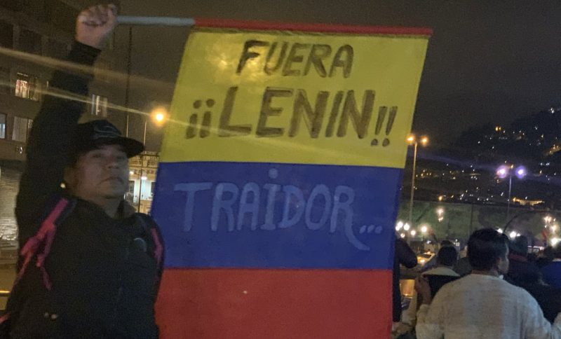 Эквадор кипит: «Ленин Морено не протянет до декабря», - считает международный аналитик