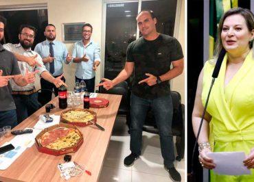 "Joice Hasselmann ataca Filipe Martins: ""Respeito os 'viados' assumidos. Frouxo é frouxo, não importa o posto que tenha"""