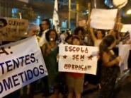 Alunos, professores e pais protestam contra Escola Sem Partido em Belo Horizonte