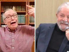 Olavo de Carvalho compartilha artigo que diz que Lula livre vai derrubar Bolsonaro