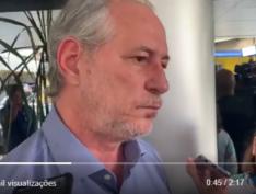 """Ciro Gomes: se alguém atirou, foi estimulado por """"Bolsonaro e sua família de canalhas"""""""