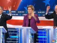 """Sanders ataca multimilionário Bloomberg em debate: """"você e Trump defendem socialismo para os ricos"""""""