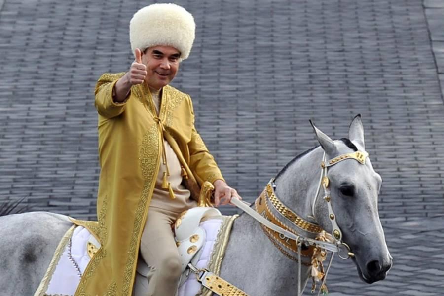 Ditador do Turcomenistão proíbe a palavra coronavírus no país