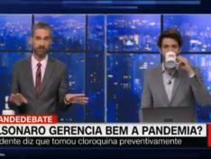 """Detonado mais uma vez ao vivo, internautas chamam Caio Coppolla de """"saco de pancadas da CNN"""""""