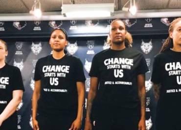 Jogadoras da WNBA vestirão camisetas com nomes de mulheres mortas pelo racismo nos EUA