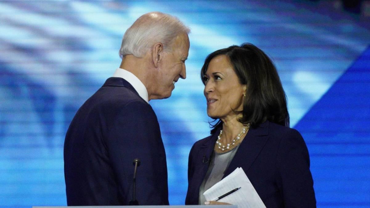 Presidente e vice-presidente, Joe Biden e Kamala Harris (Foto: Reprodução / Revista Forum)