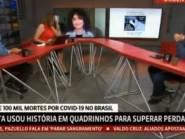 VÍDEO: Maria Beltrão se emociona e chora ao vivo com história de morte por coronavírus na GloboNews