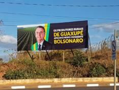 Outdoors de Bolsonaro se proliferam no Sul de Minas em retaliação a Alexandre de Moraes