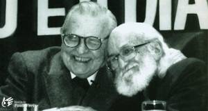 Dom Paulo Arns e Paulo Freire