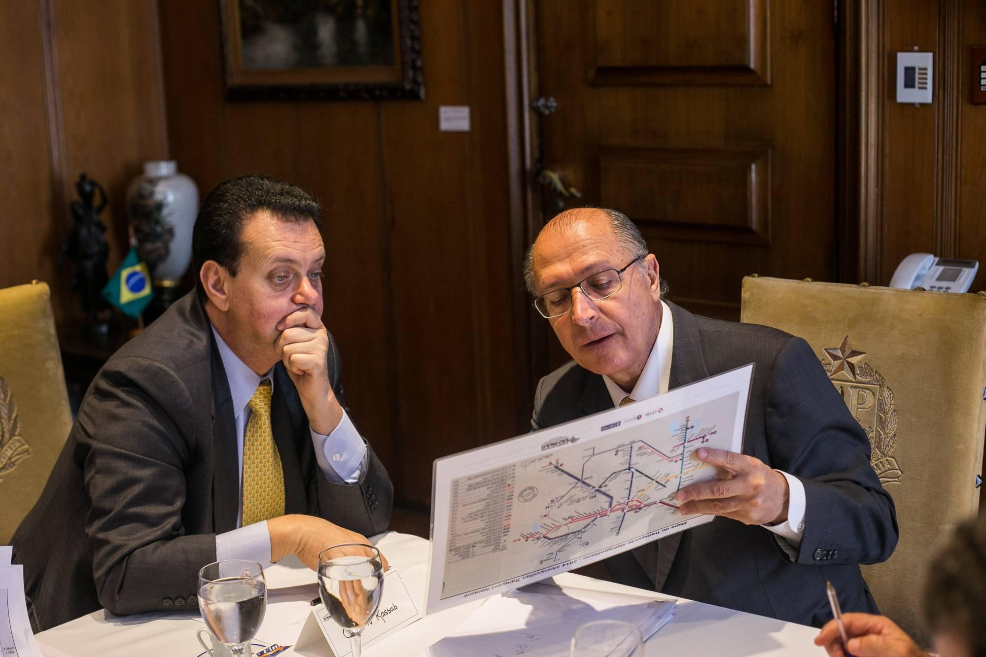 Geraldo Alckmin e Gilberto Kassab