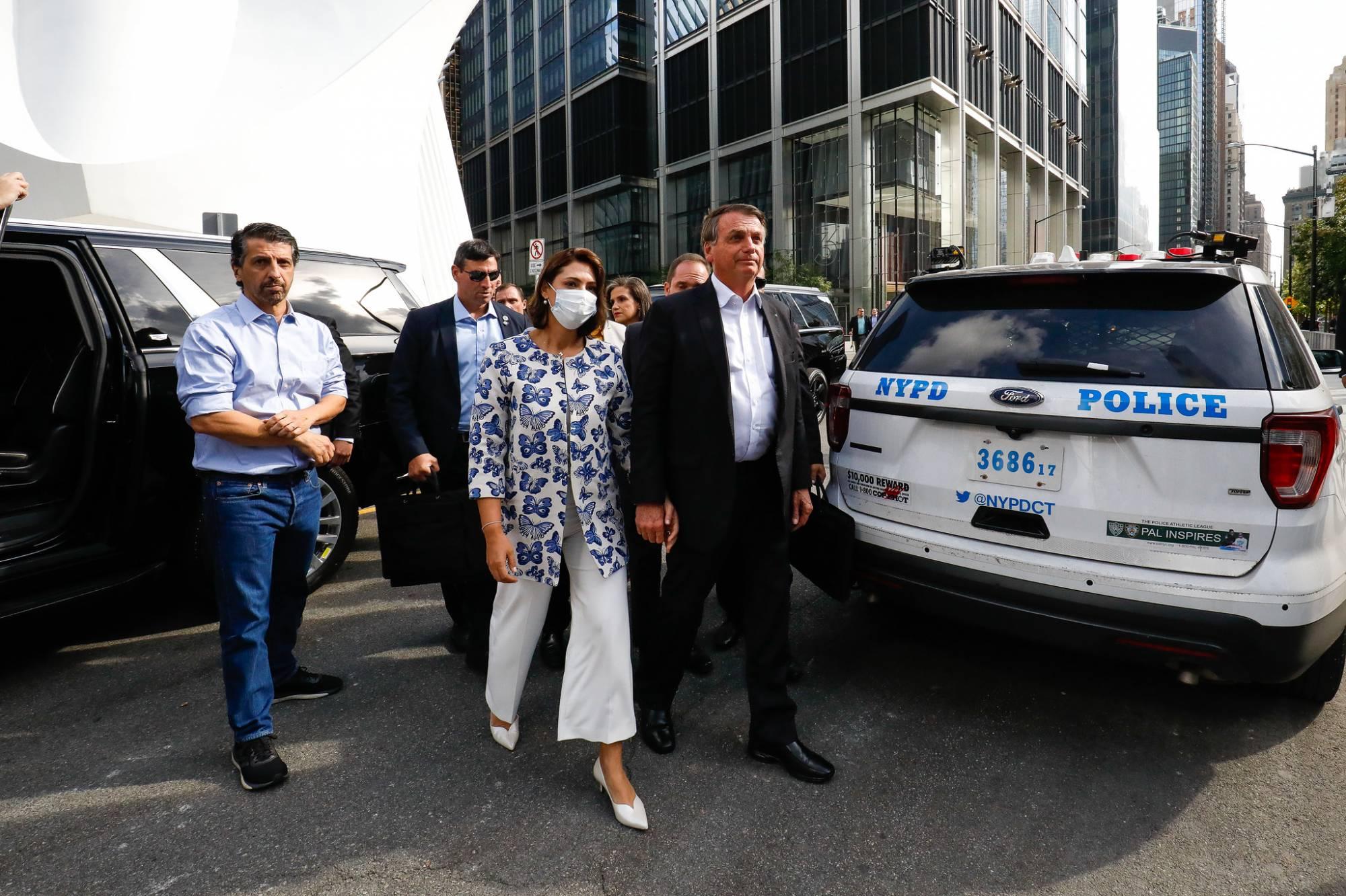 Jair Bolsonaro em Nova York