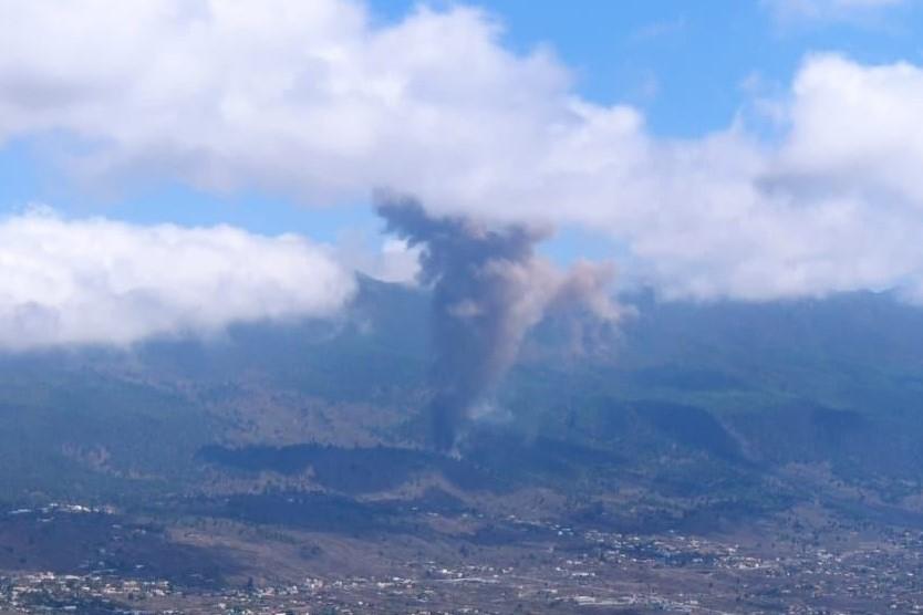 Vulcão Cumbre Vieja, em La Palma